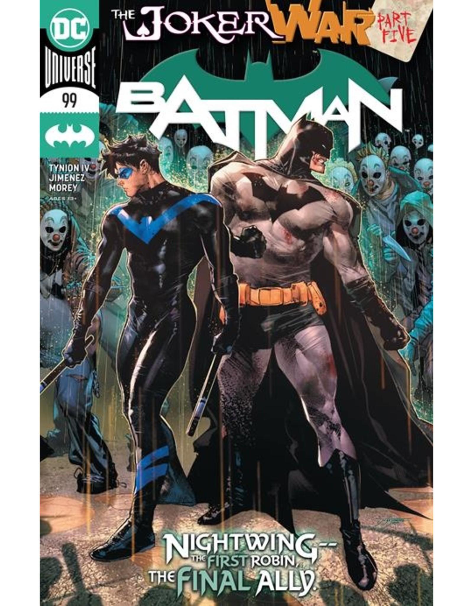 DC COMICS BATMAN #99 CVR A JORGE JIMENEZ (JOKER WAR)