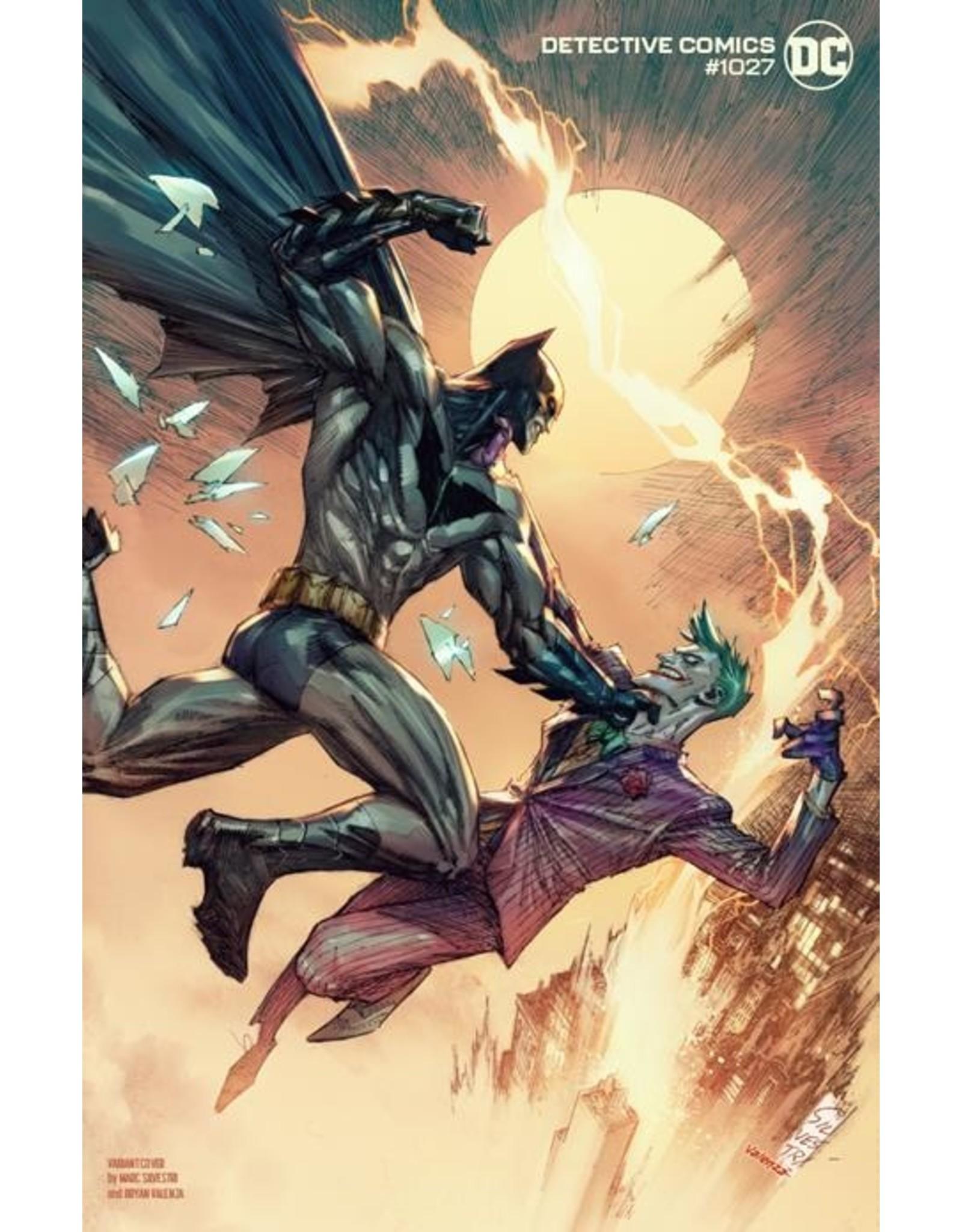 DC COMICS DETECTIVE COMICS #1027 CVR K MARC SILVESTRI BATMAN JOKER VAR