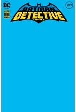 DC COMICS DETECTIVE COMICS #1027 CVR L BLANK VAR