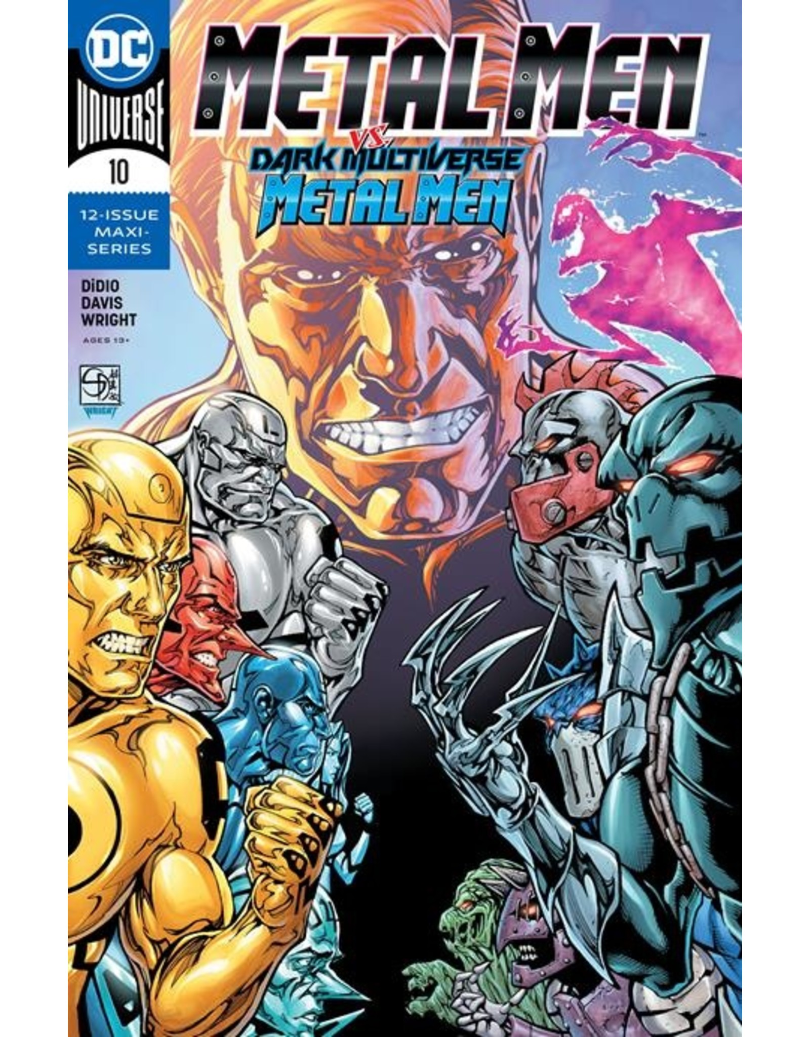 DC COMICS METAL MEN #10 CVR A SHANE DAVIS