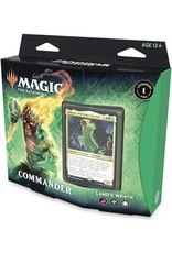 WIZARDS OF THE COAST MTG ZENDIKAR RISING COMMANDER DECK LAND'S WRATH