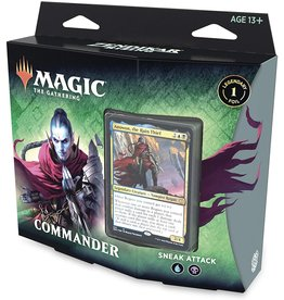 WIZARDS OF THE COAST MTG ZENDIKAR RISING COMMANDER DECK SNEAK ATTACK