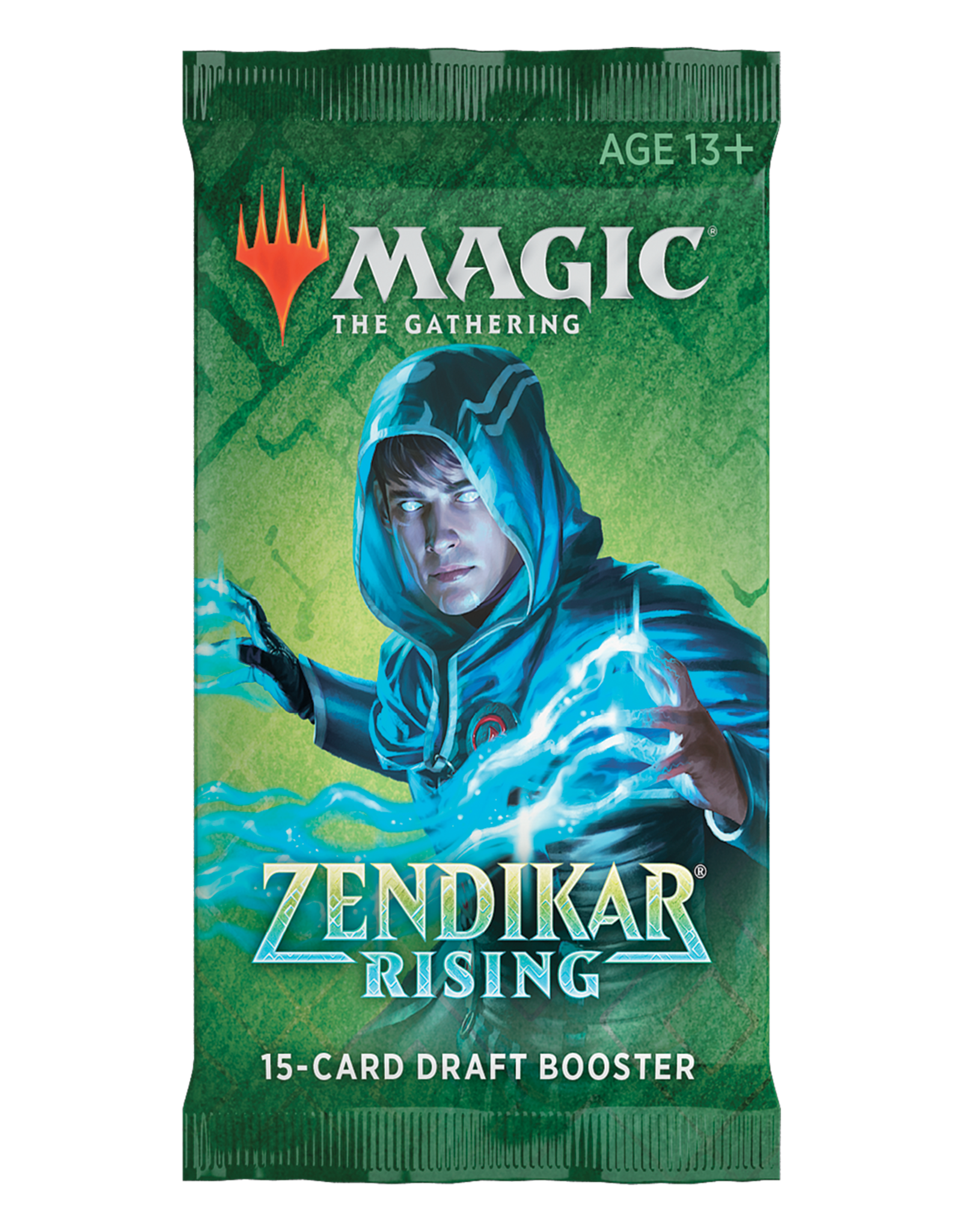WIZARDS OF THE COAST ZENDIKAR RISING MTG DRAFT BOOSTER PACK