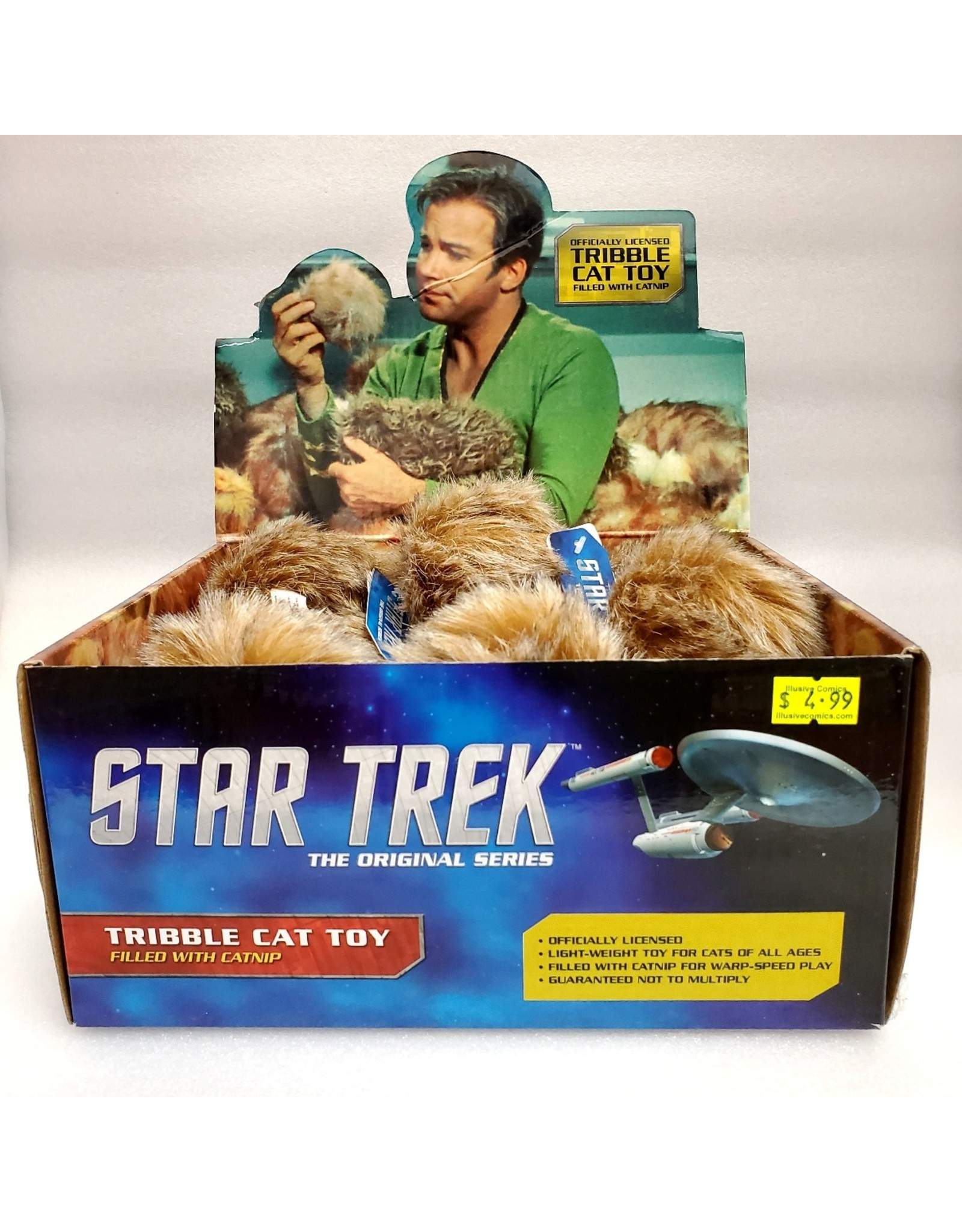 CROWDED COOP STAR TREK TOS TRIBBLE CAT TOY