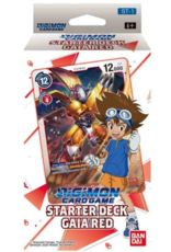 DIGIMON CARD GAME STARTER DECK GAIA RED PRE-ORDER