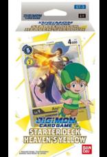 DIGIMON CARD GAME STARTER DECK HEAVENS YELLOW PRE-ORDER