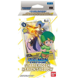 DIGIMON CARD GAME STARTER DECK HEAVENS YELLOW PRE-ORDER