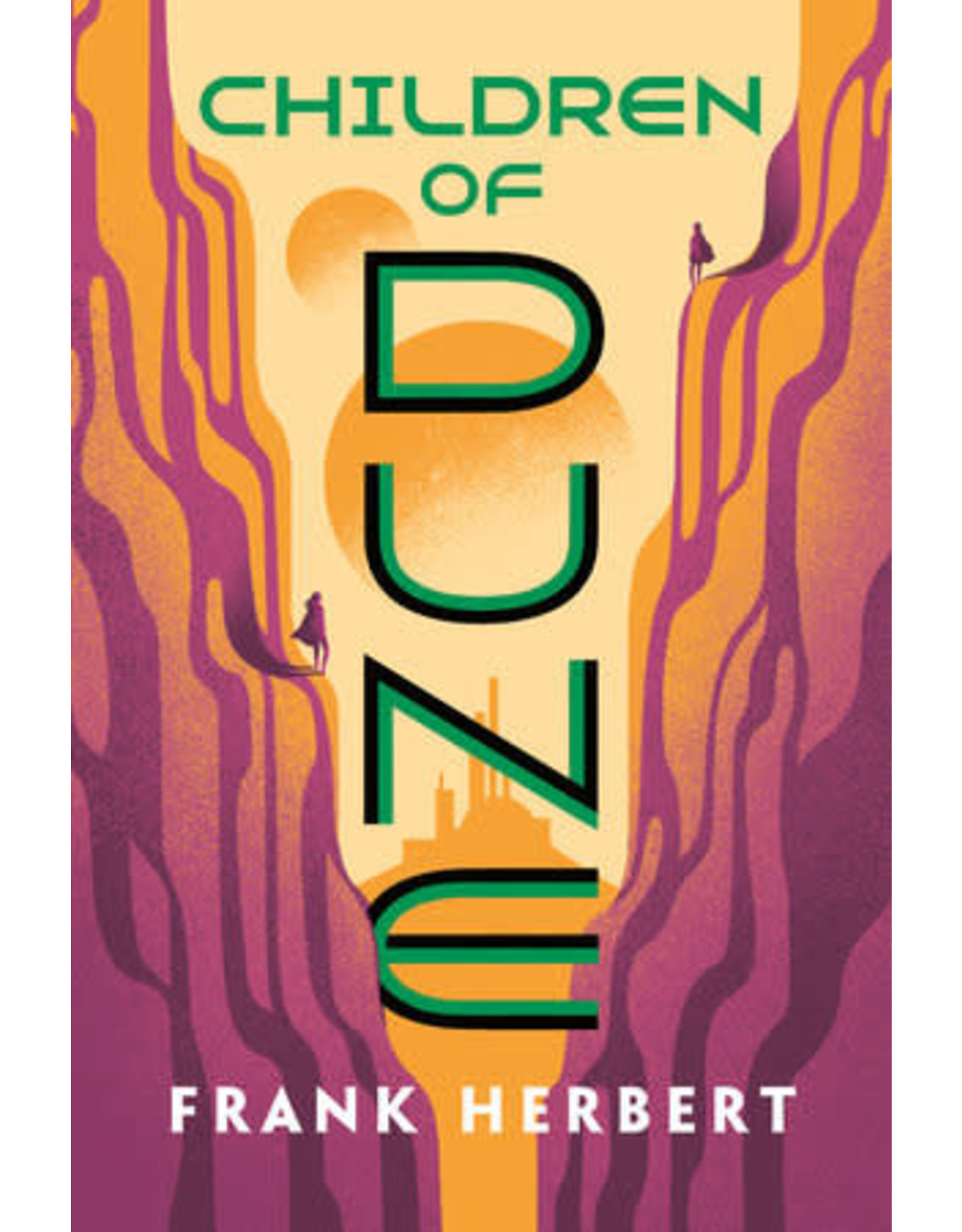 CHILDREN OF DUNE (BOOK THREE IN NOVEL SERIES)