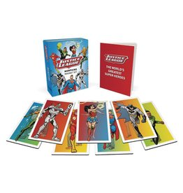 RUNNING PRESS JUSTICE LEAGUE MORPHING MAGNET & BOOK SET