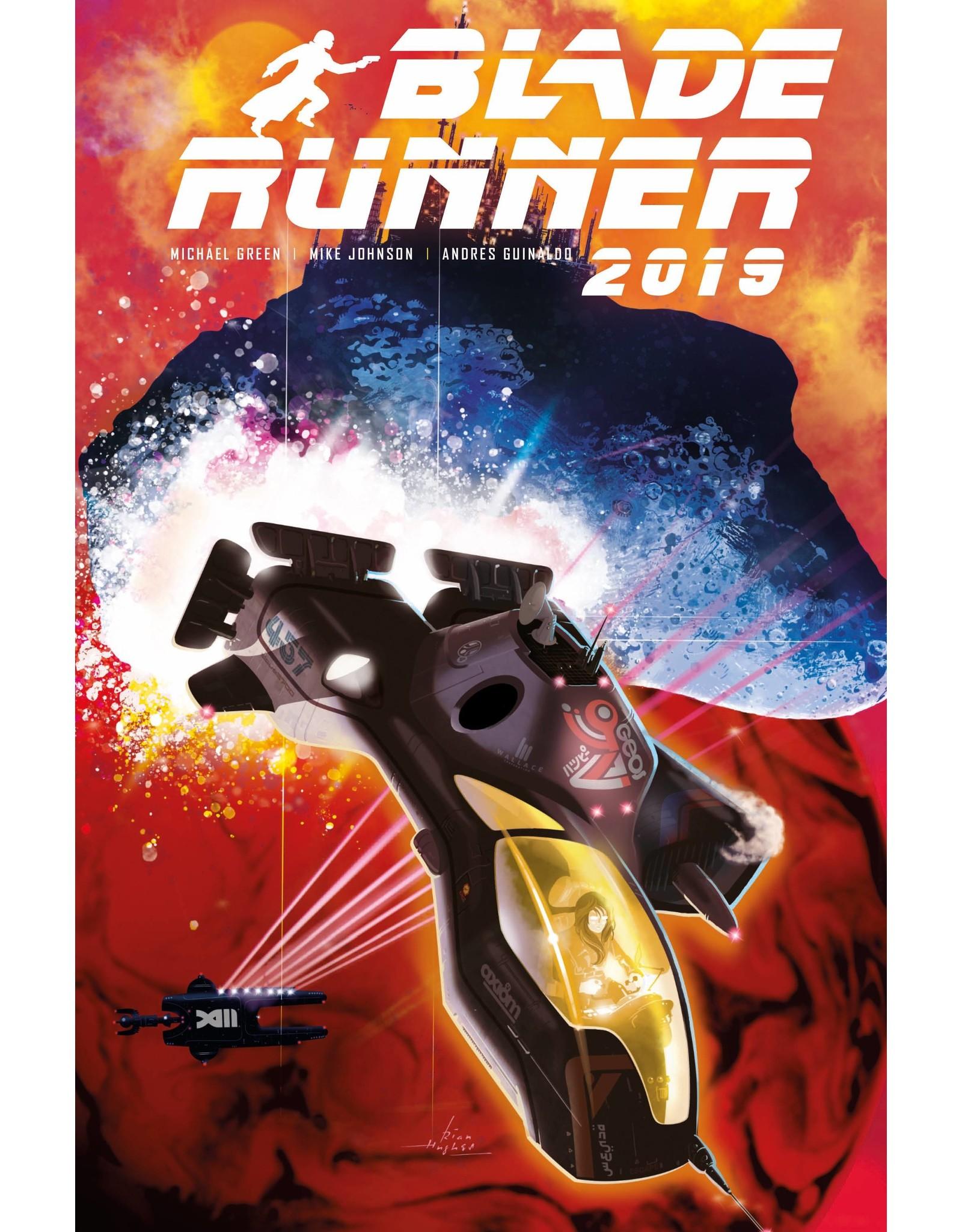 TITAN COMICS BLADE RUNNER 2019 #10 CVR A HUGHES
