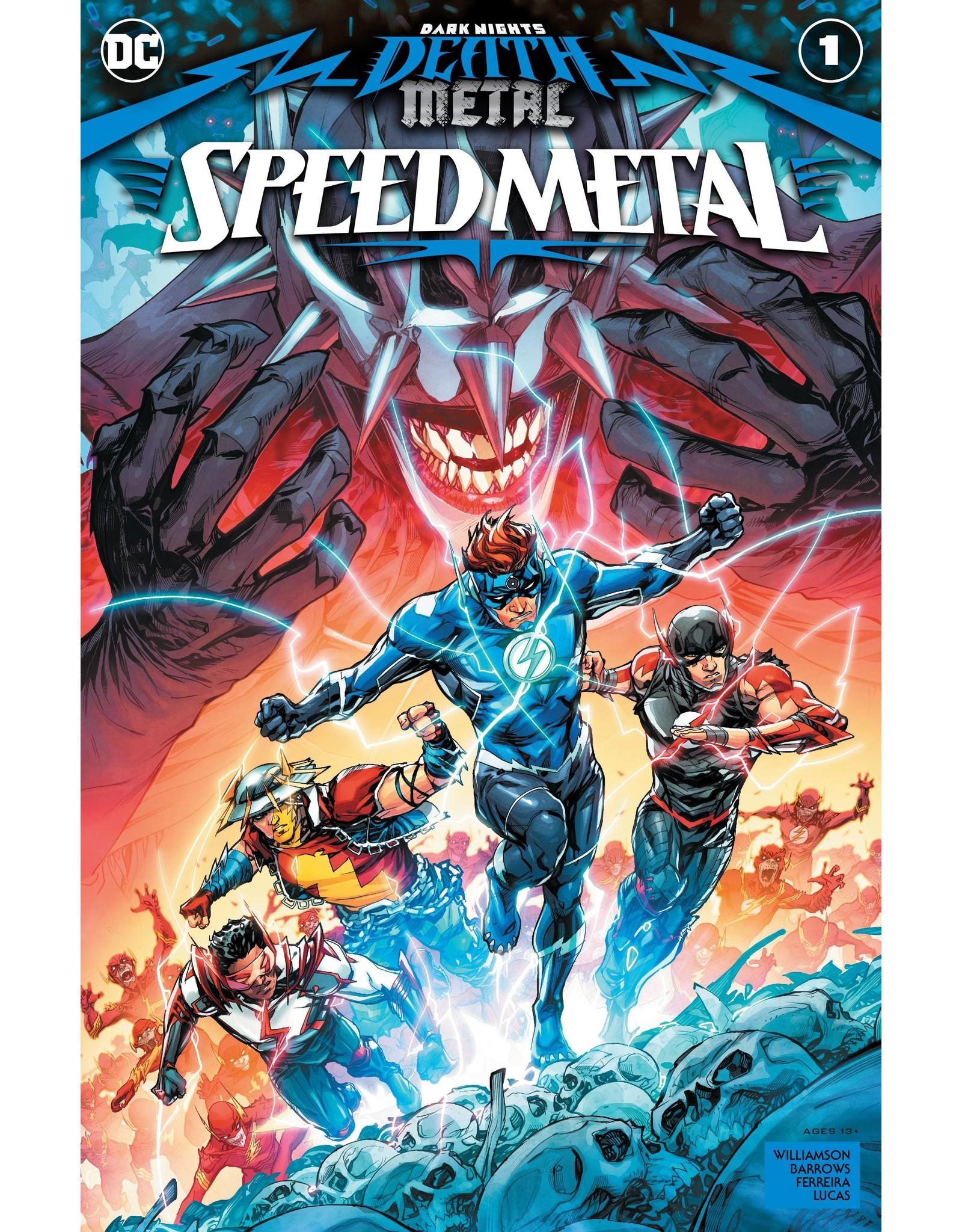 DC COMICS DARK NIGHTS DEATH METAL SPEED METAL #1 (ONE SHOT) CVR A HOWARD PORTER