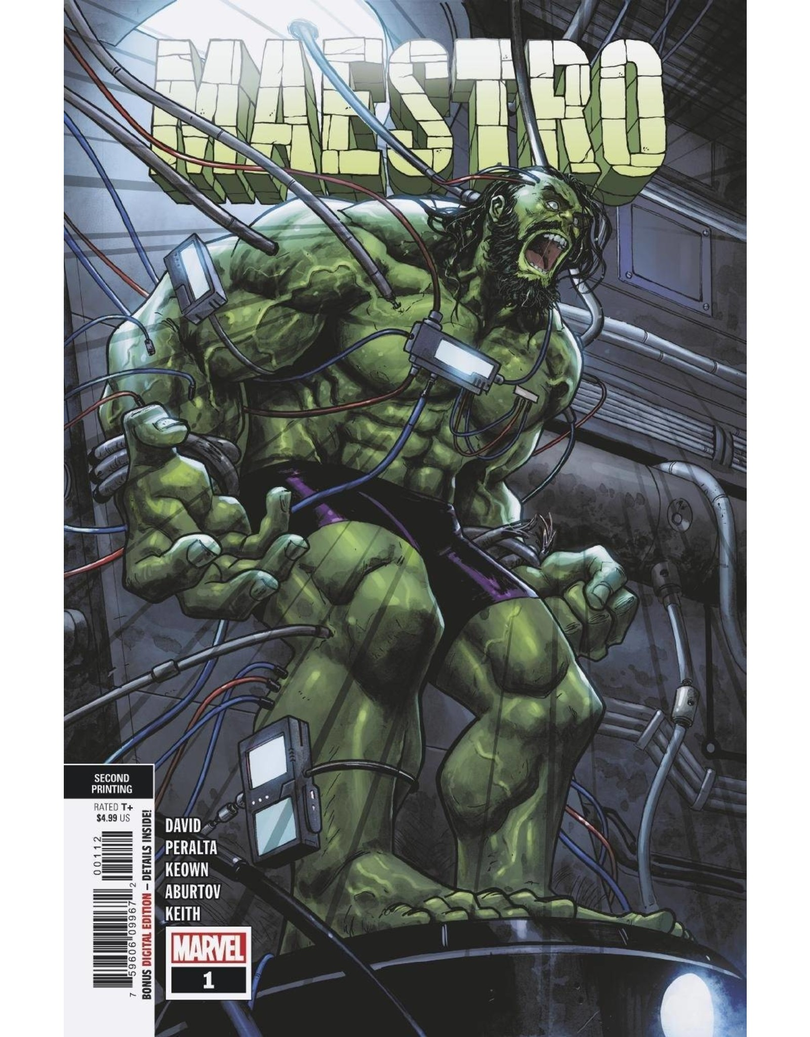 MARVEL COMICS MAESTRO #1 (OF 5) 2ND PTG VAR