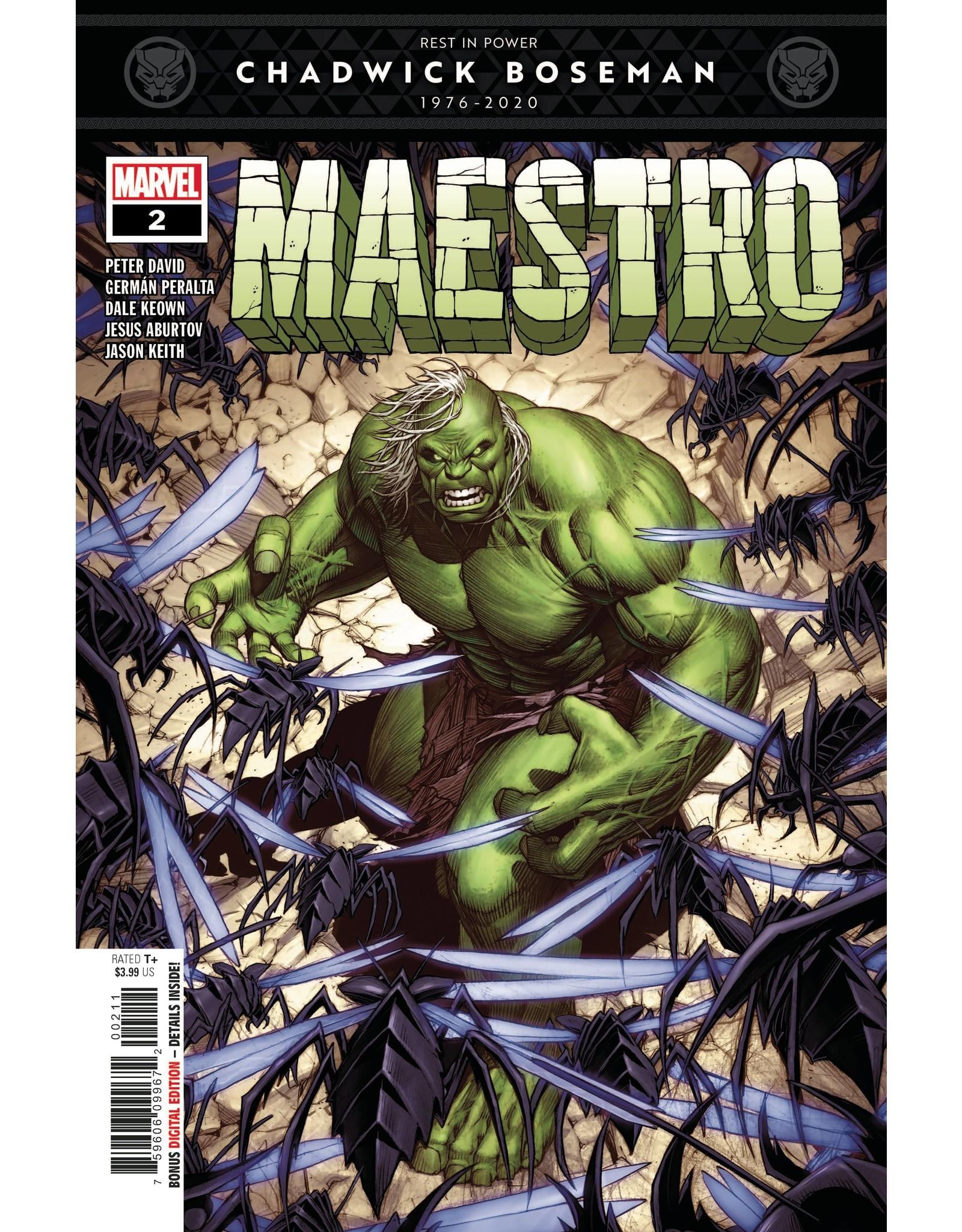 MARVEL COMICS MAESTRO #2 (OF 5)