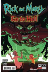ONI PRESS INC. RICK AND MORTY GO TO HELL #4 CVR A OROZA