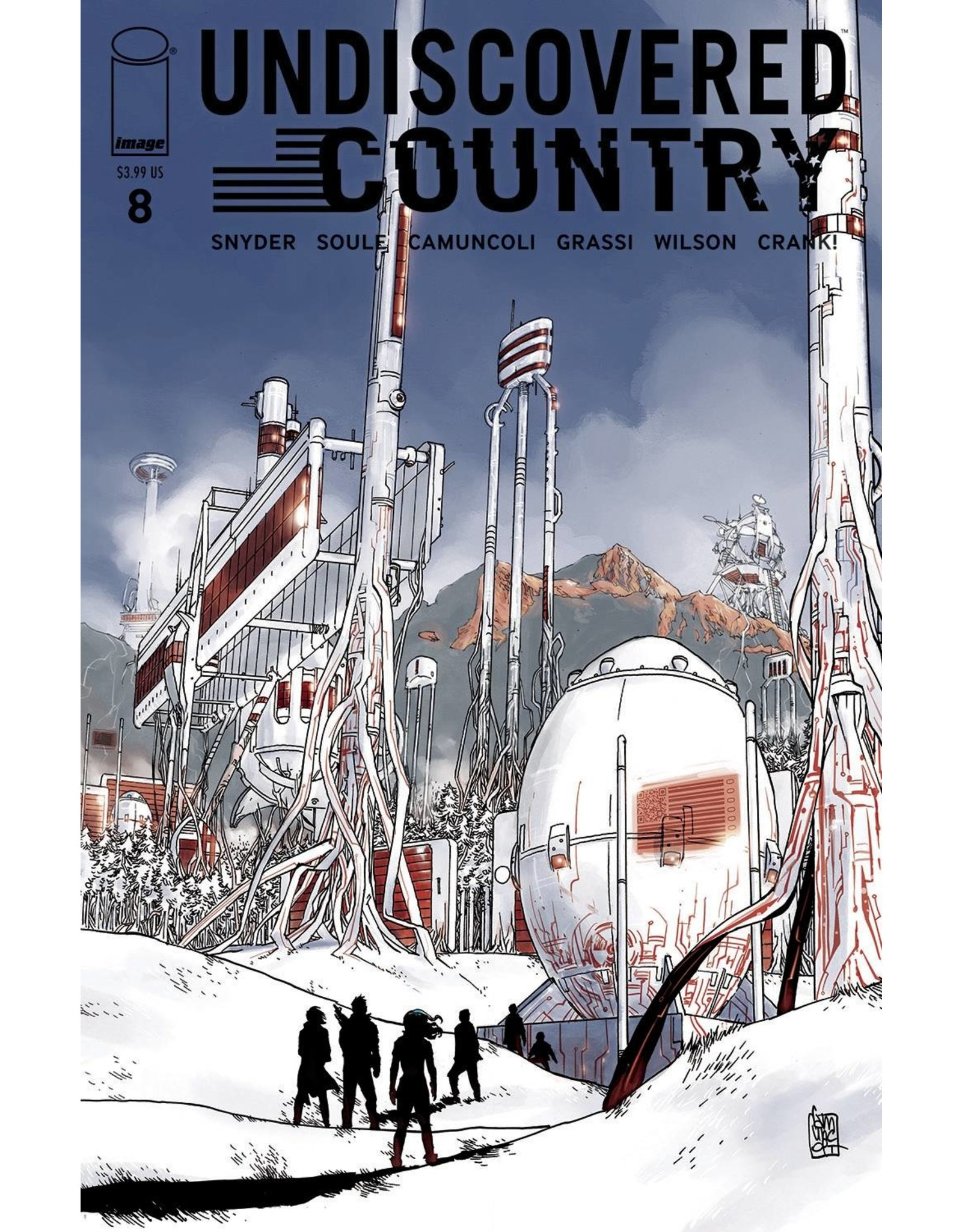 IMAGE COMICS UNDISCOVERED COUNTRY #8 CVR A CAMUNCOLI