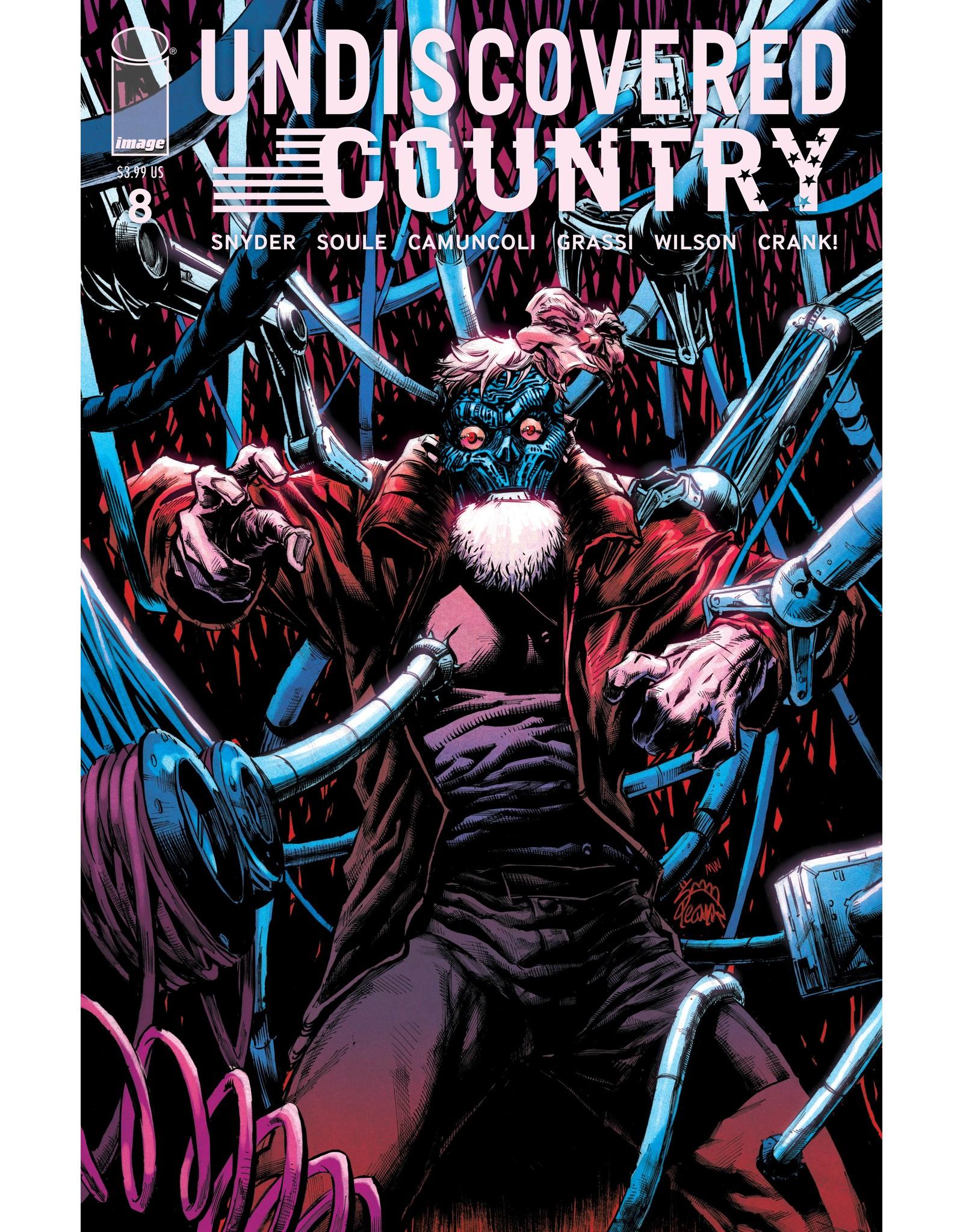 IMAGE COMICS UNDISCOVERED COUNTRY #8 CVR B STEGMAN