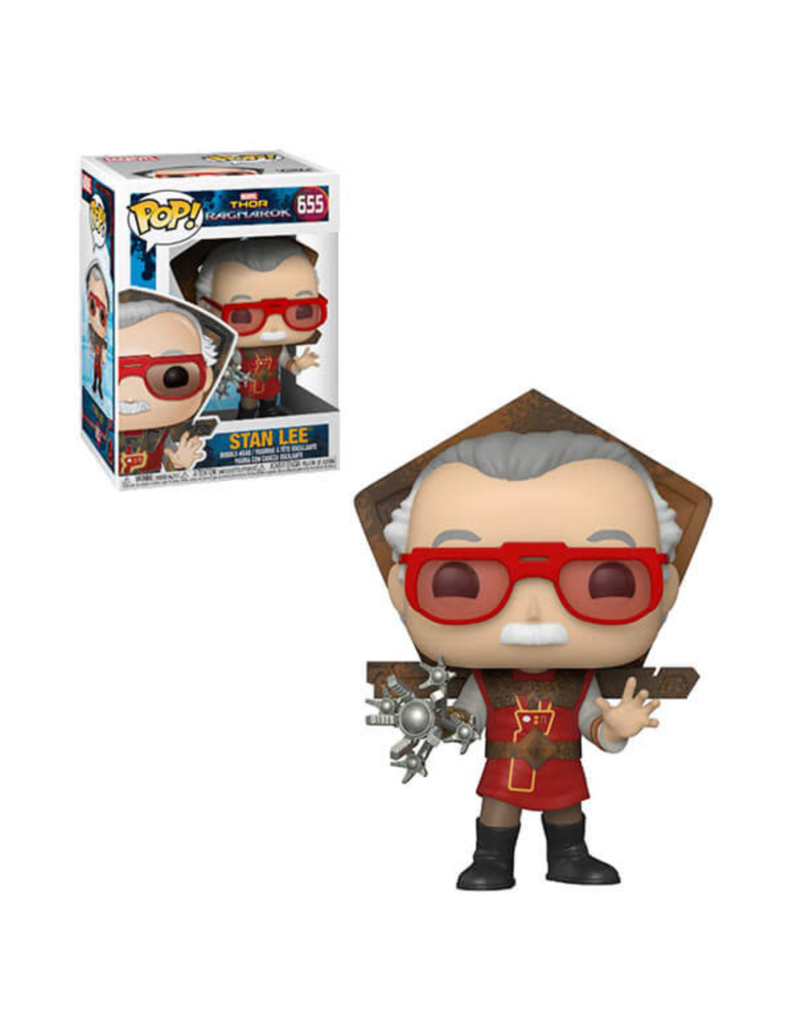 FUNKO POP ICONS STAN LEE IN RAGNAROK OUTFIT