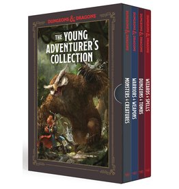 TEN SPEED PRESS D&D YOUNG ADVENTURERS COLL 4 BOOK BOX SET