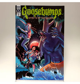 IDW PUBLISHING GOOSEBUMPS SECRETS OF THE SWAMP #1 1:10 INCENTIVE MEATH