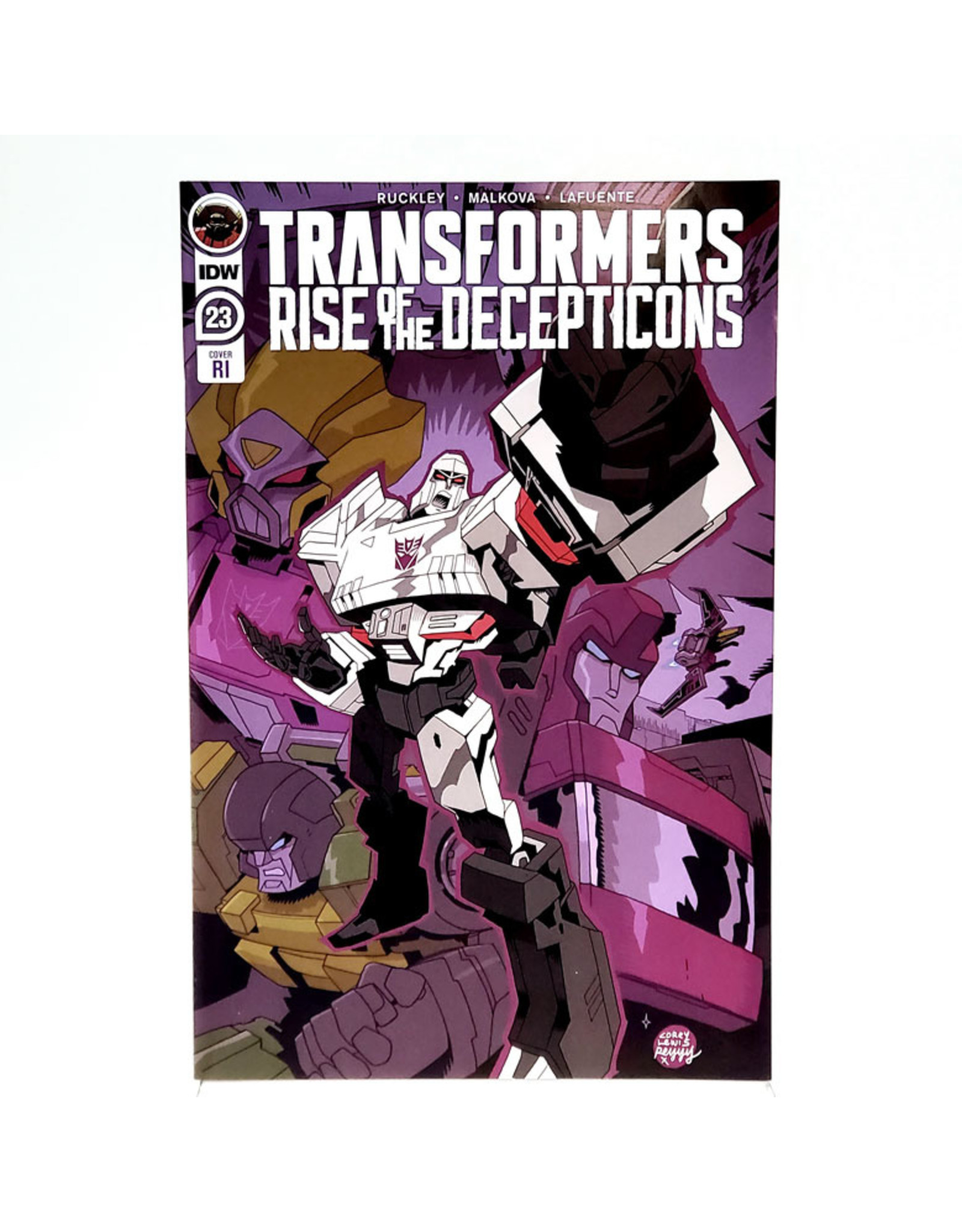 IDW PUBLISHING TRANSFORMERS #23 1:10 INCENTIVE LEWIS