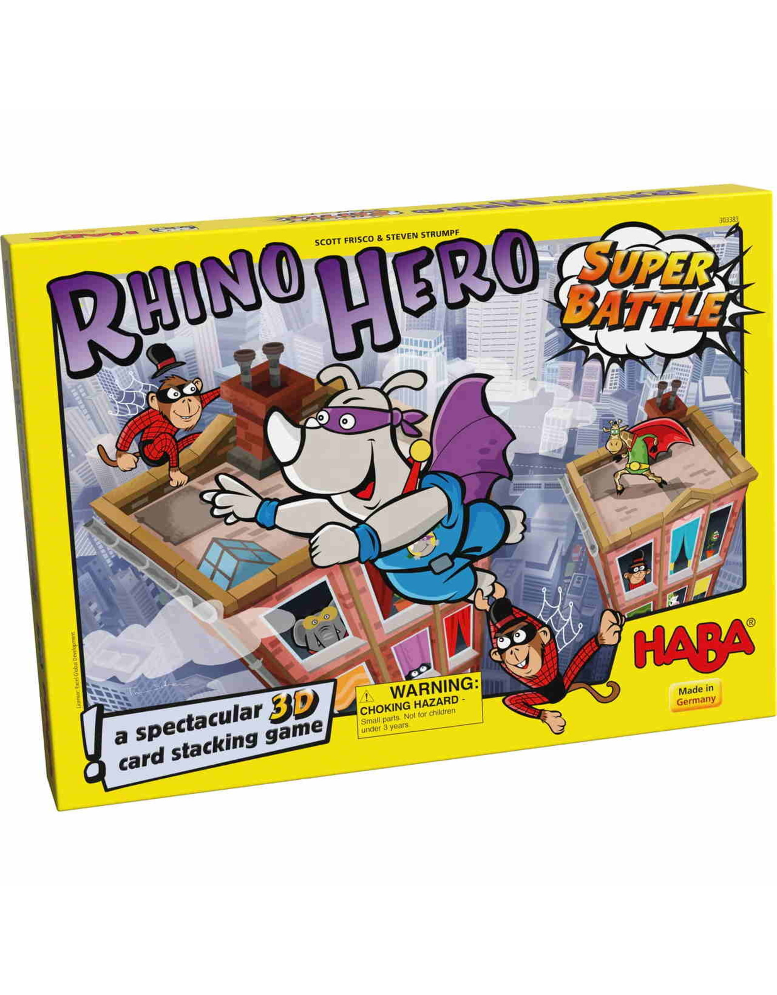 HABA GAMES RHINO HERO SUPER BATTLE