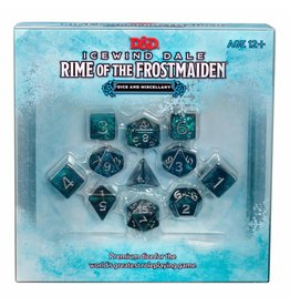 WIZARDS OF THE COAST RIME OF THE FROSTMAIDEN DICE AND MISCELLANY