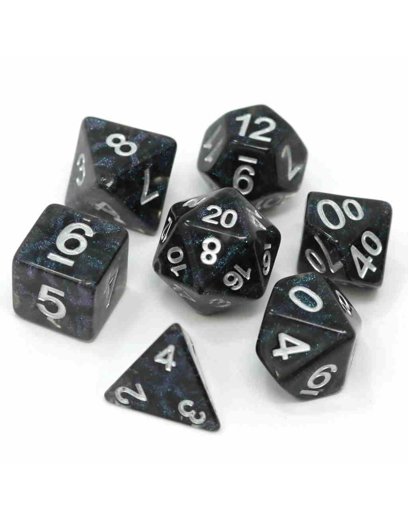 DIE HARD DICE DIE HARD DICE 7 CT RPG DICE SET VOID CRYSTAL