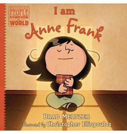 DIAL BOOKS I AM ANNE FRANK HC