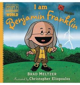 DIAL BOOKS I AM BENJAMIN FRANKLIN HC
