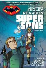 DC COMICS SUPER SONS ESCAPE TO LANDIS TP
