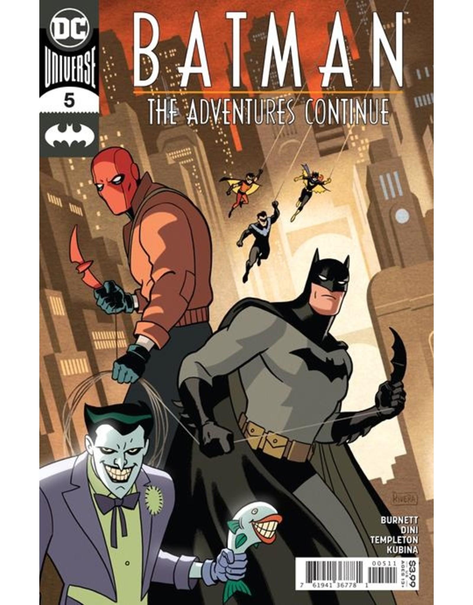 DC COMICS BATMAN THE ADVENTURES CONTINUE #5 (OF 7) CVR A PAOLO RIVERA & JOE RIVERA