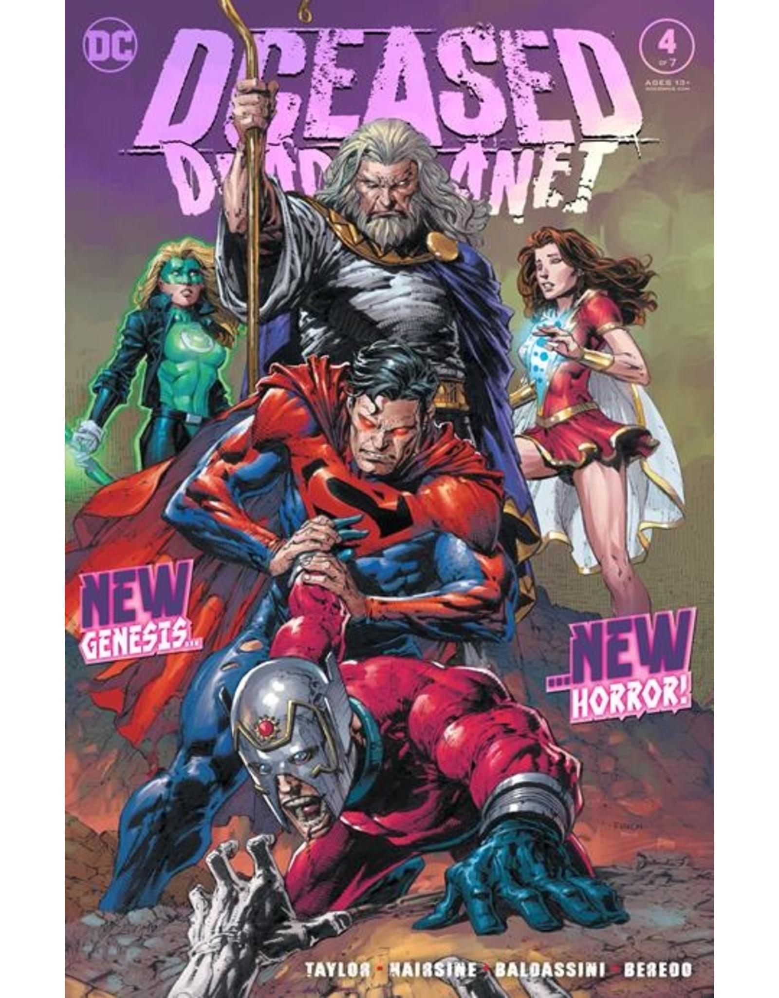 DC COMICS DCEASED DEAD PLANET #4 (OF 7) CVR A DAVID FINCH
