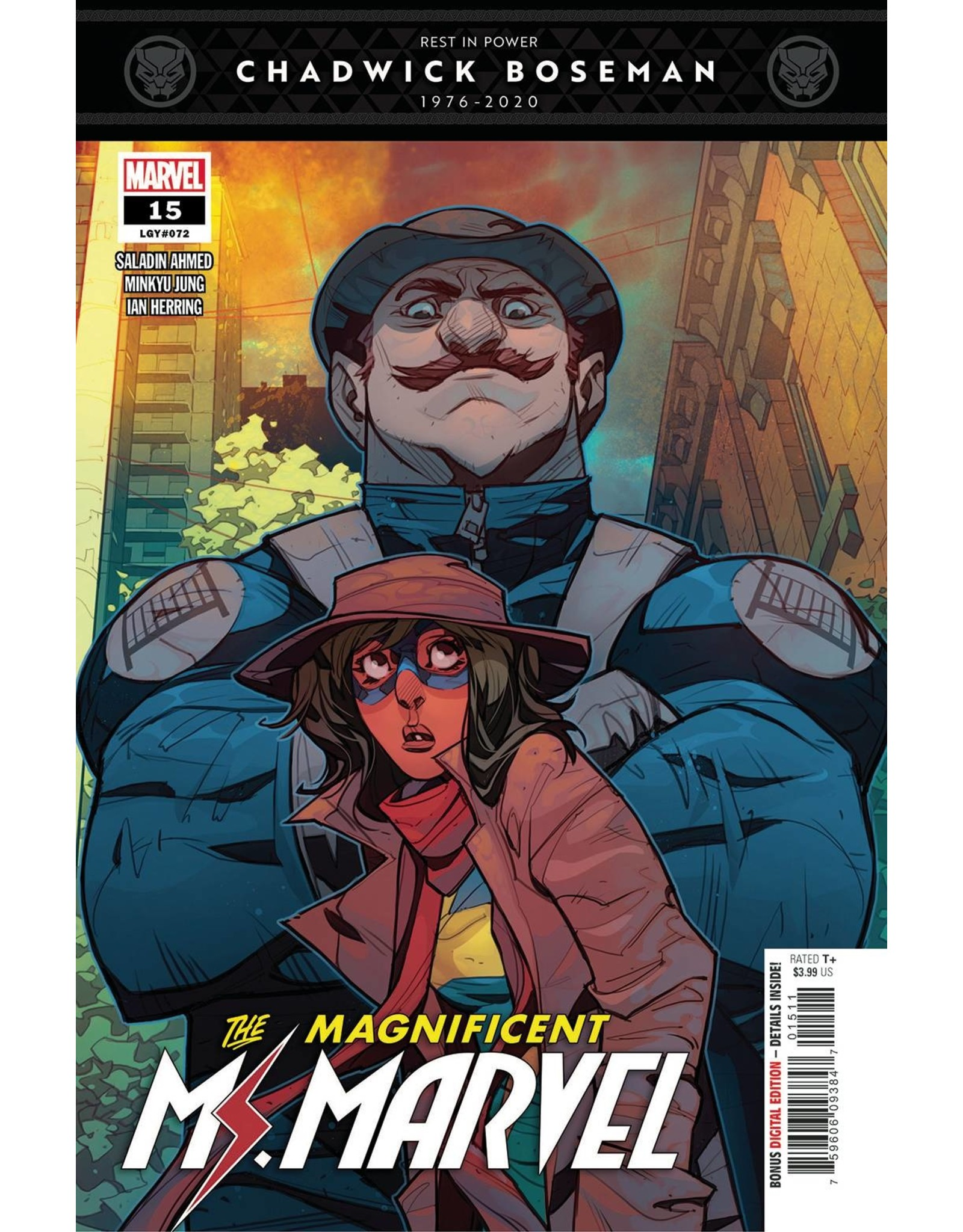 MARVEL COMICS MAGNIFICENT MS MARVEL #15 OUT