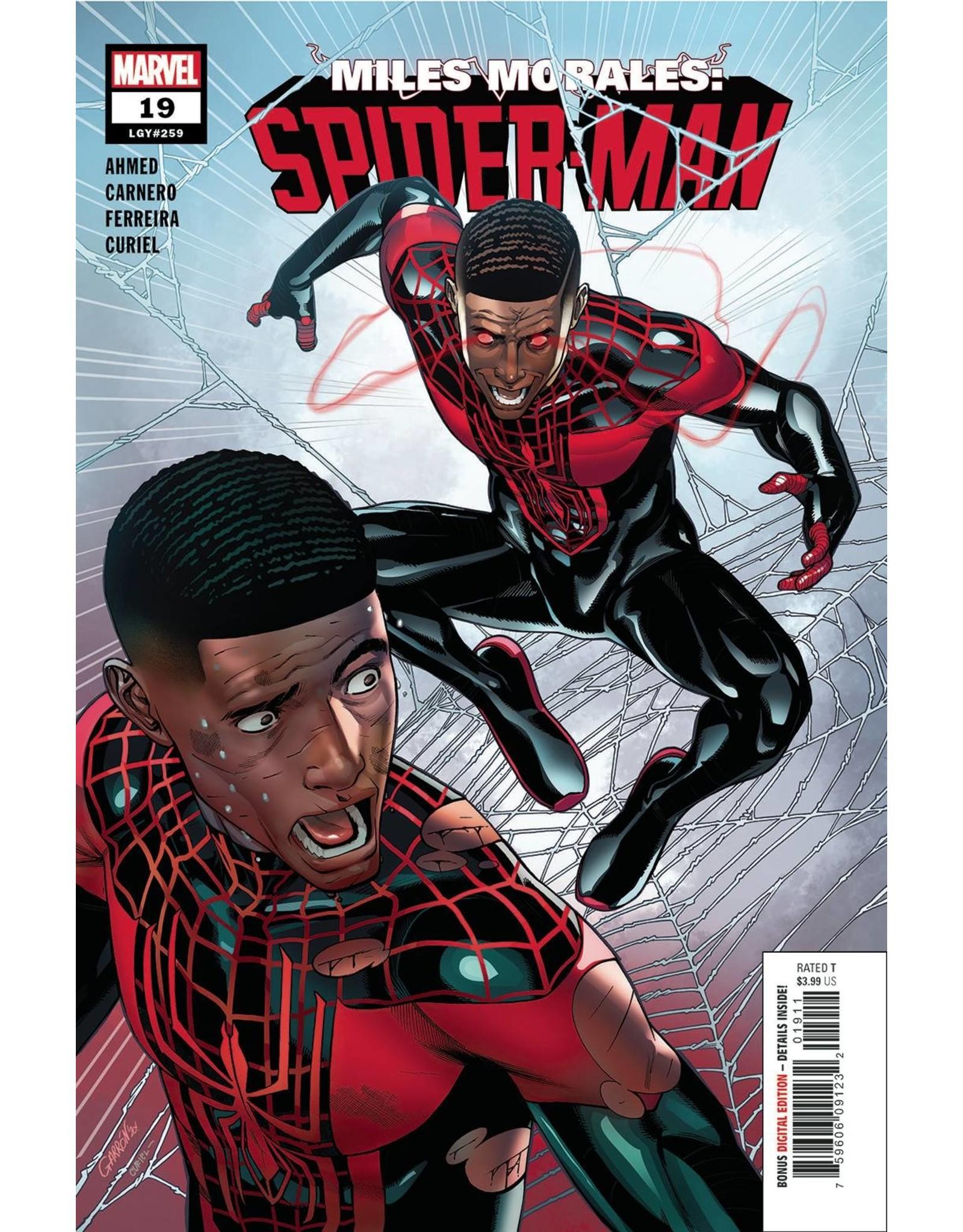 MARVEL COMICS MILES MORALES SPIDER-MAN #19 OUT