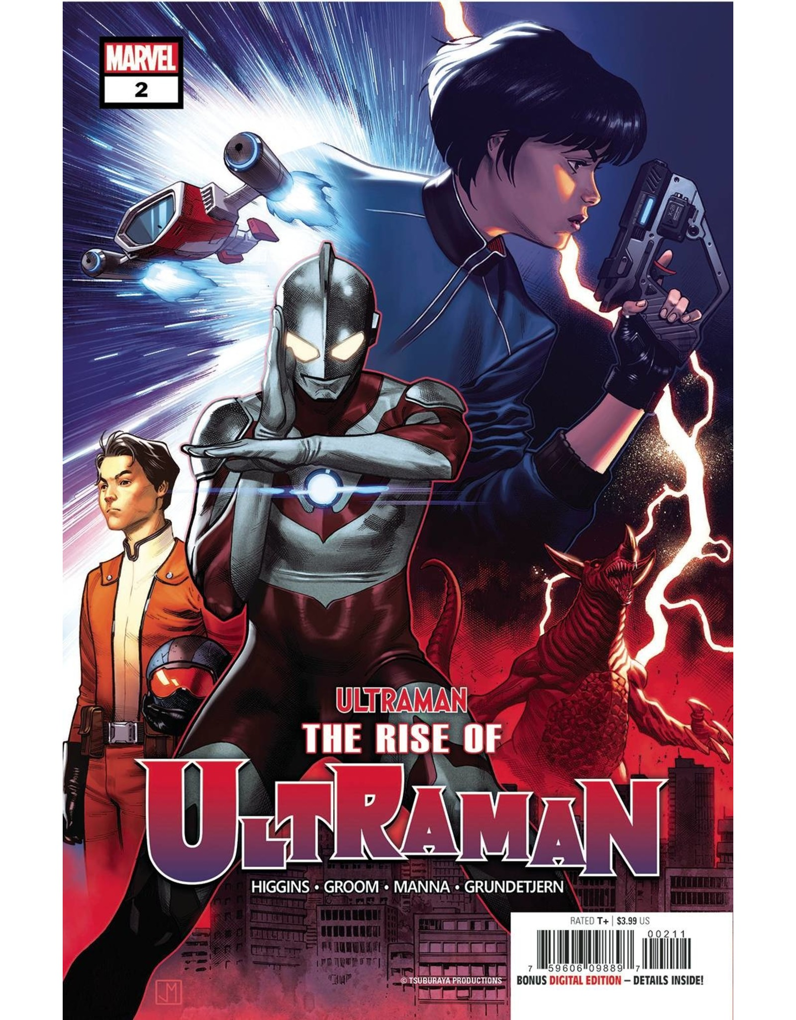 MARVEL COMICS RISE OF ULTRAMAN #2 (OF 5)