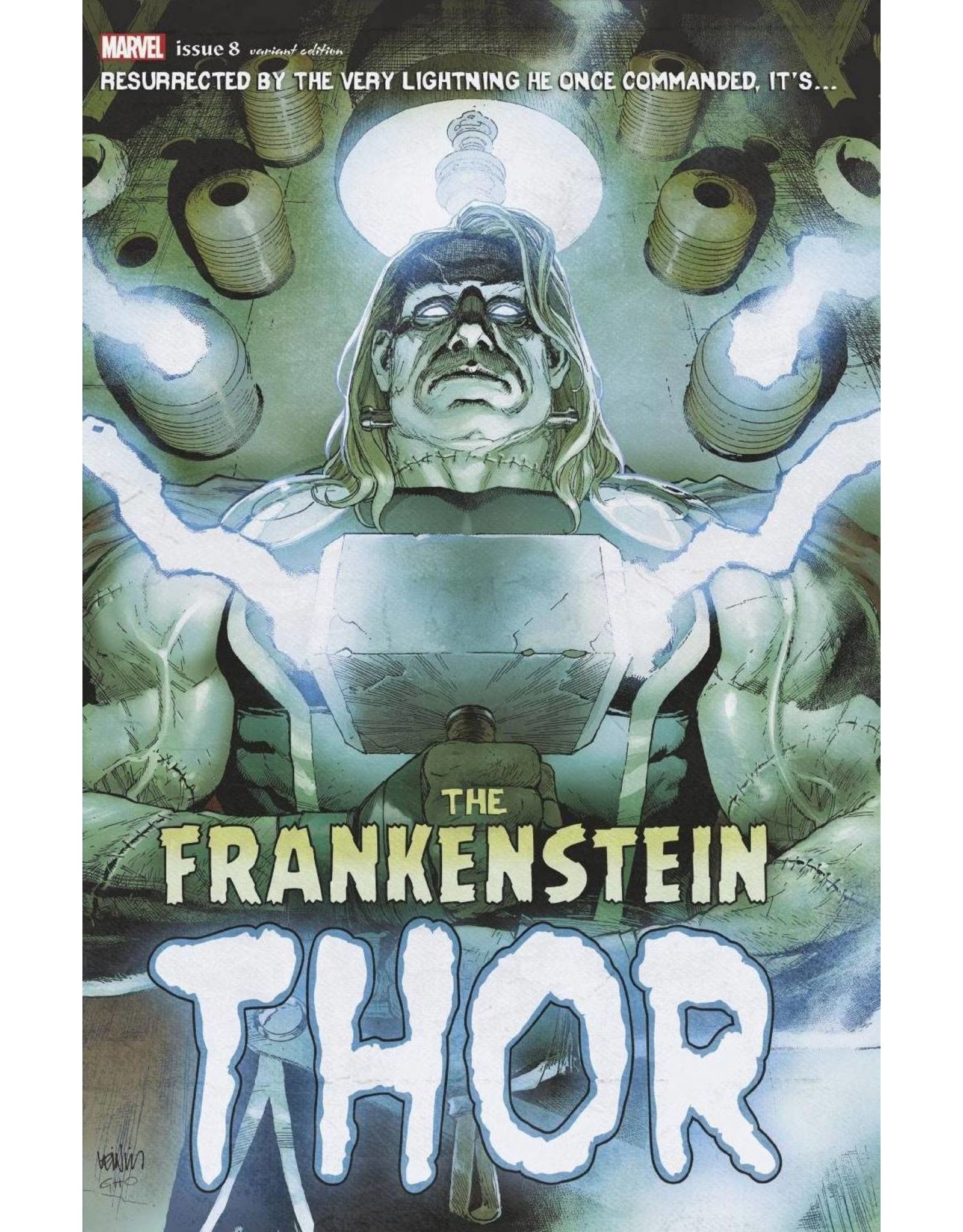 MARVEL COMICS THOR #8 FRANKENSTEINS THOR HORROR VAR