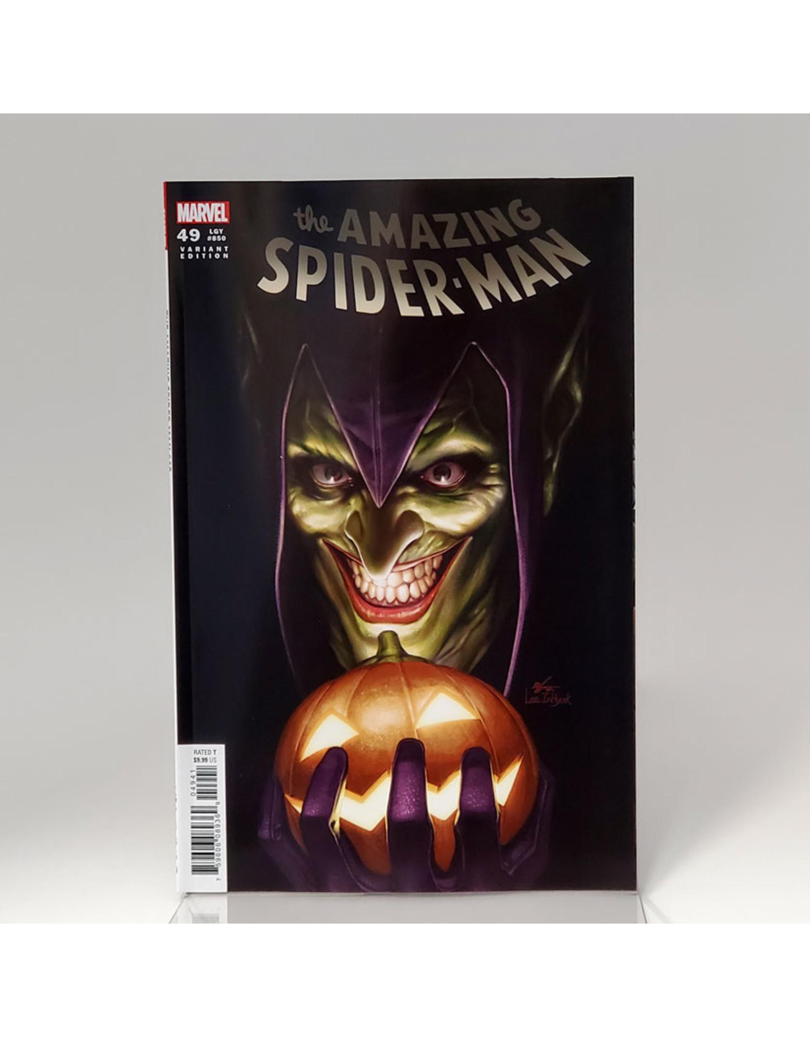 MARVEL COMICS AMAZING SPIDER-MAN #49 1:25 INHYUK LEE VAR
