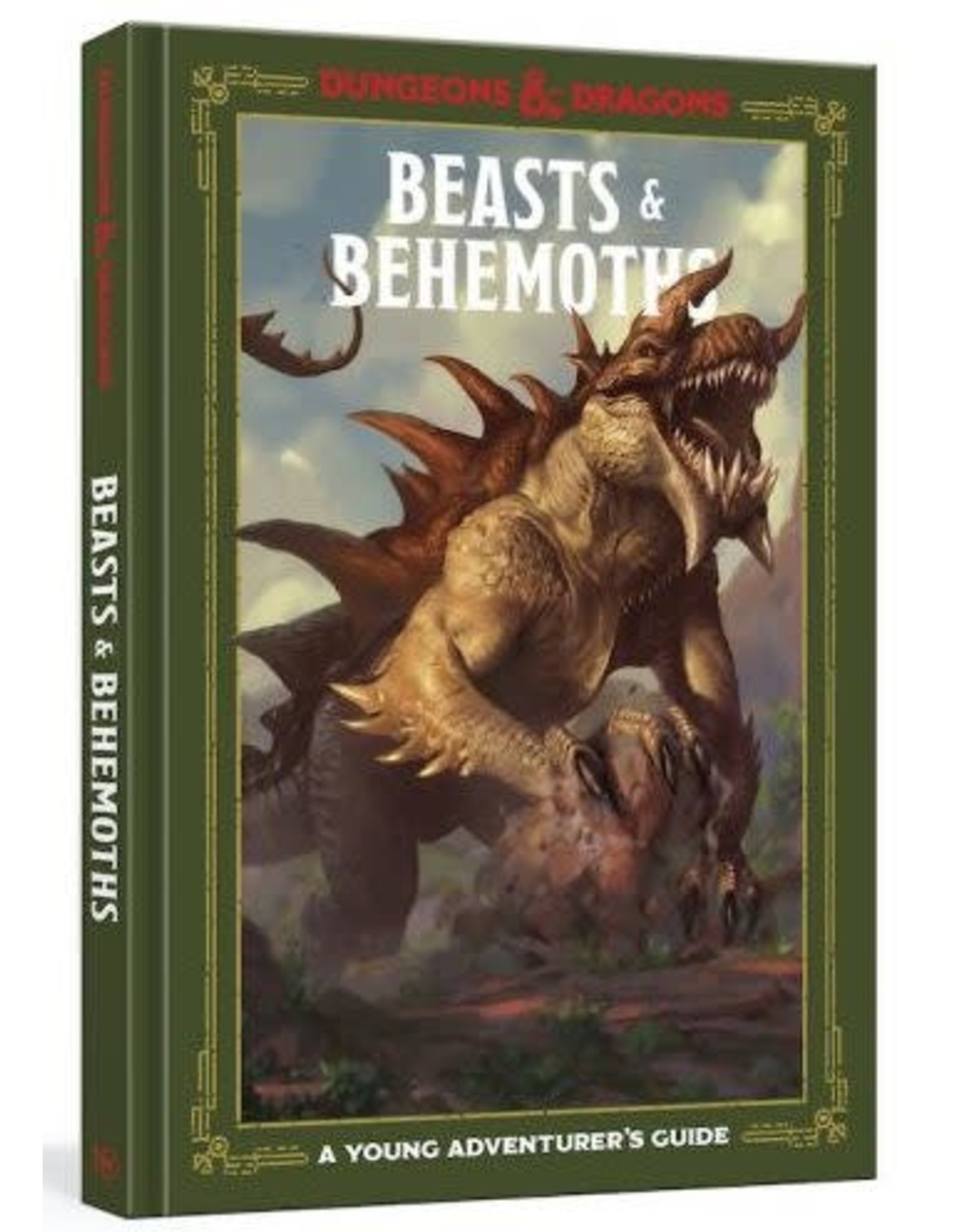 TEN SPEED PRESS D&D YOUNG ADVENTURER'S GUIDE: BEASTS & BEHEMOTHS