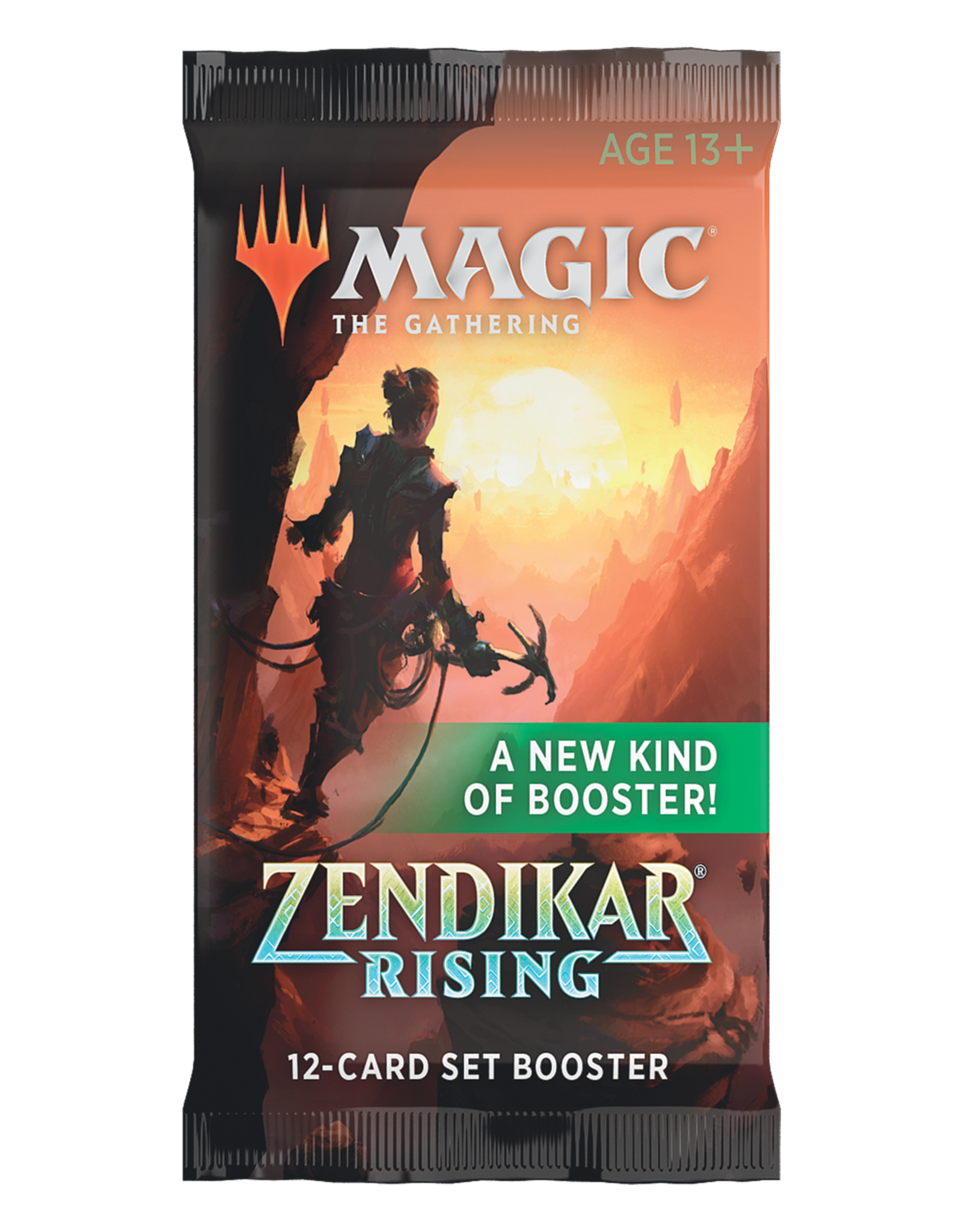 WIZARDS OF THE COAST ZENDIKAR RISING MTG SET BOOSTER PACK