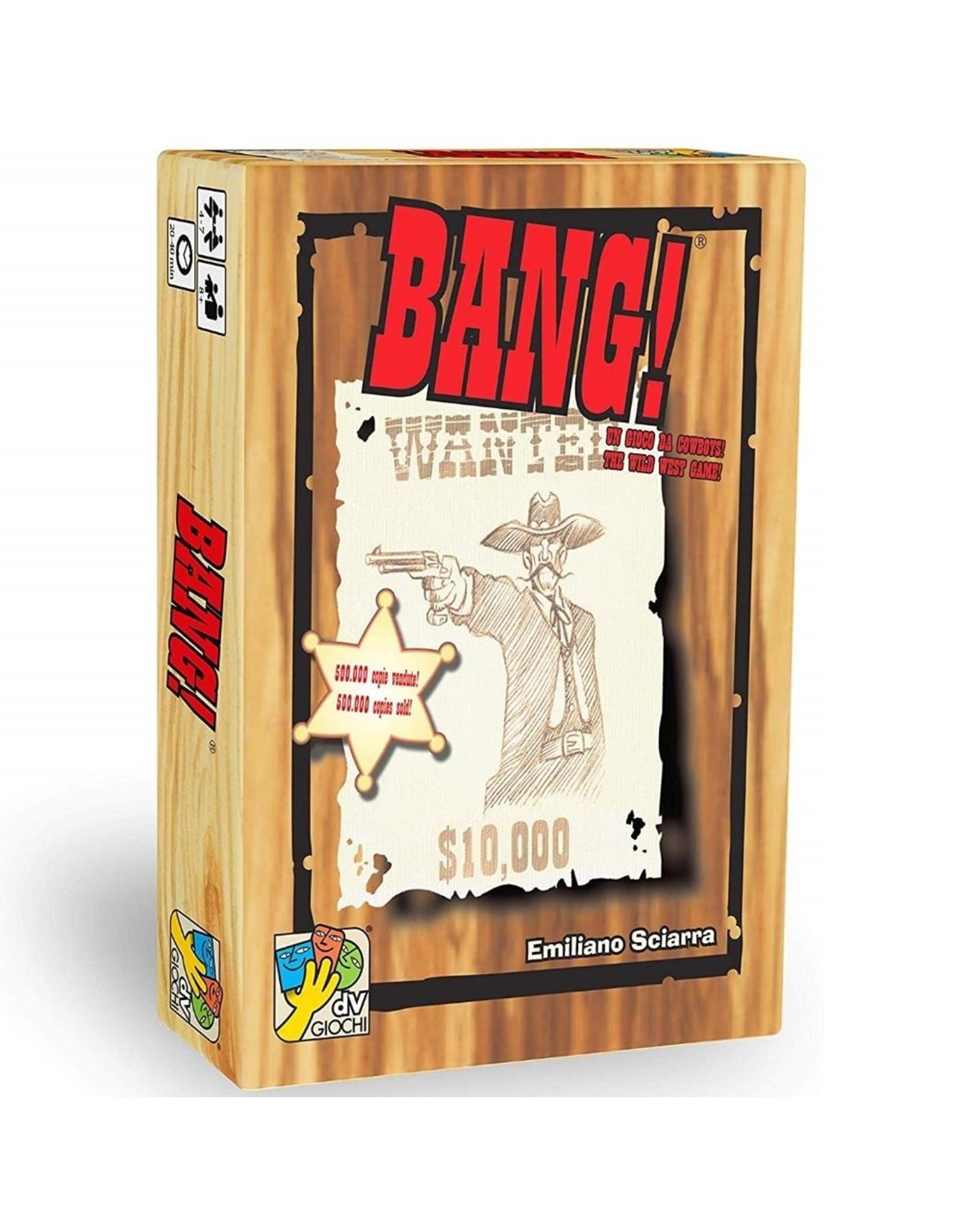 DAVINCI GAMES BANG 4TH ED CARD GAME