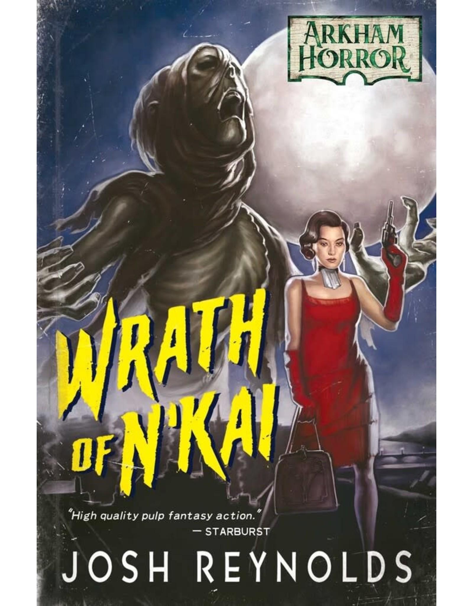 FANTASY FLIGHT GAMES ARKHAM HORROR: WRATH OF N'KAI NOVEL