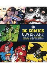 DK PUBLISHING CO DC COMICS COVER ART HC