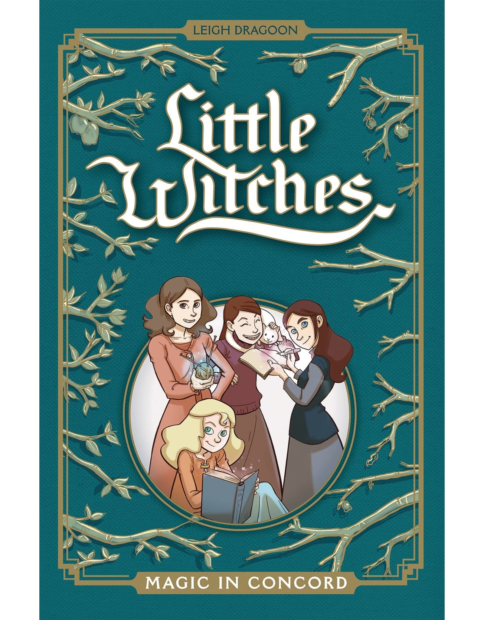 ONI PRESS INC. LITTLE WITCHES MAGIC IN CONCORD GN