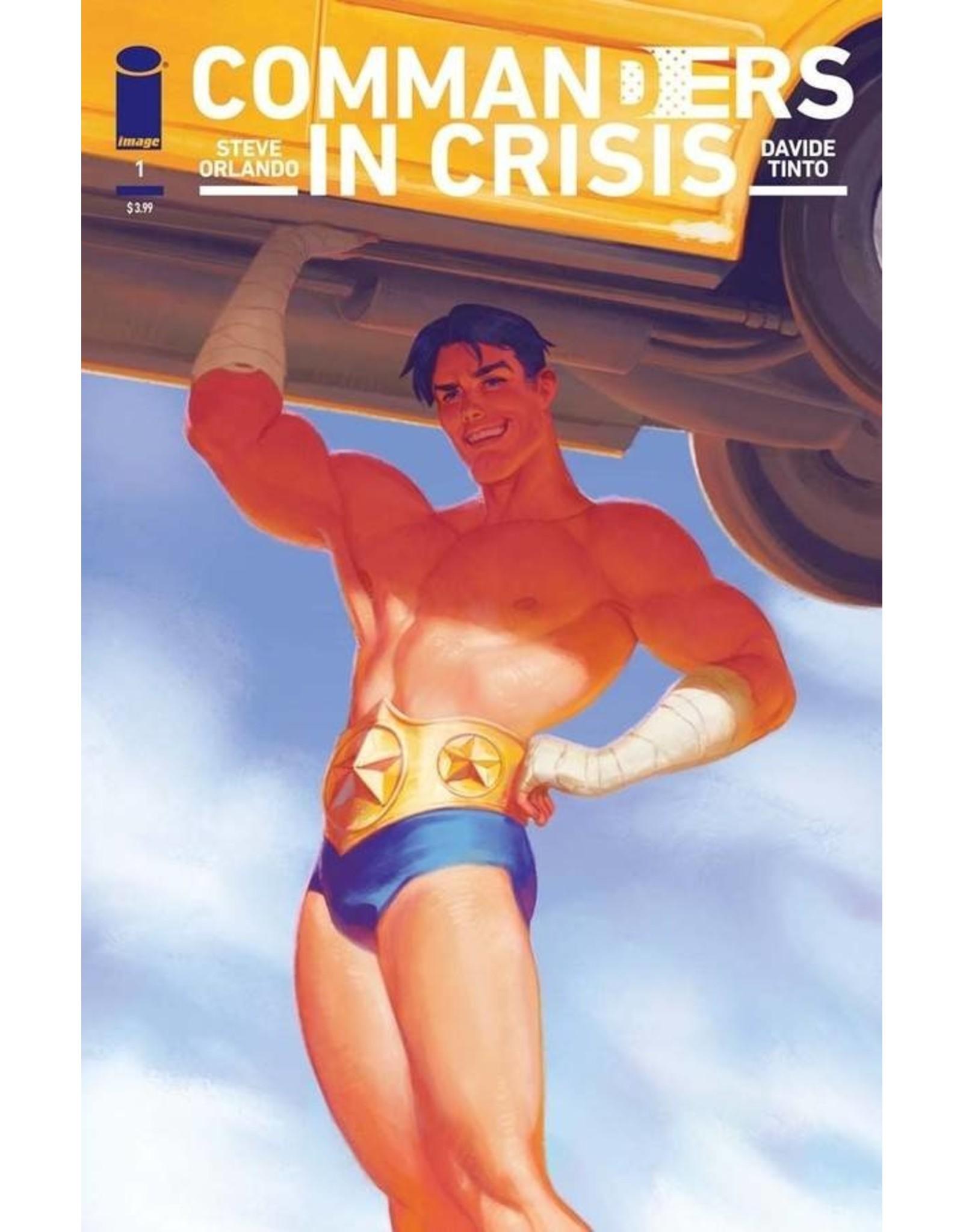 IMAGE COMICS COMMANDERS IN CRISIS #1 CVR E TALASKI