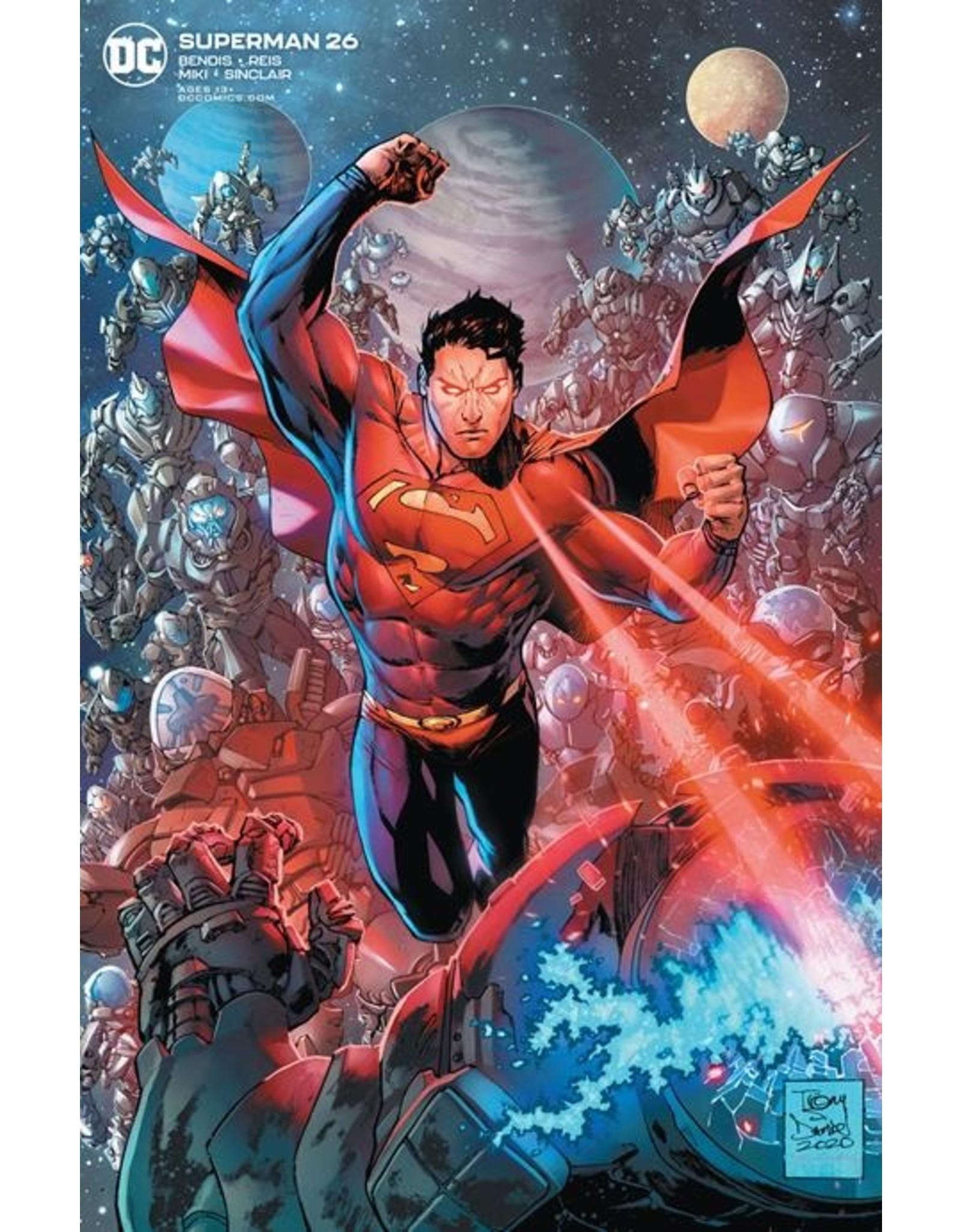 DC COMICS SUPERMAN #26 CVR B TONY S DANIEL VAR