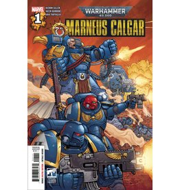 MARVEL COMICS WARHAMMER 40K MARNEUS CALGAR #1 (OF 5)