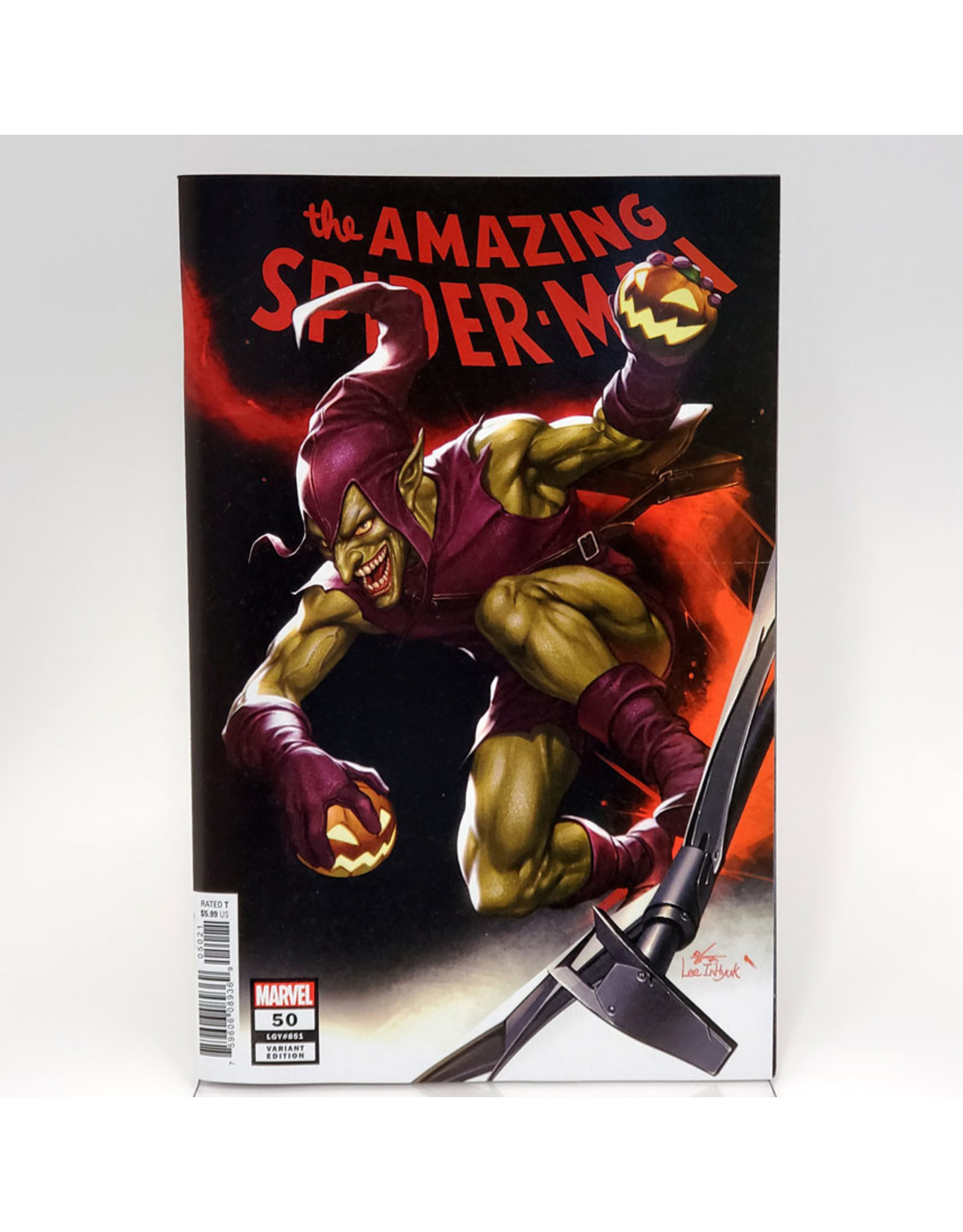MARVEL COMICS AMAZING SPIDER-MAN #50 1:25 INHYUK LEE VARIANT