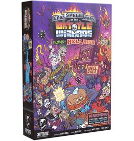 CRYPTOZOIC ENTERTAINMENT EPIC SPELL WARS OF BATTLE WIZARDS HIJINX AT HELL HIGH