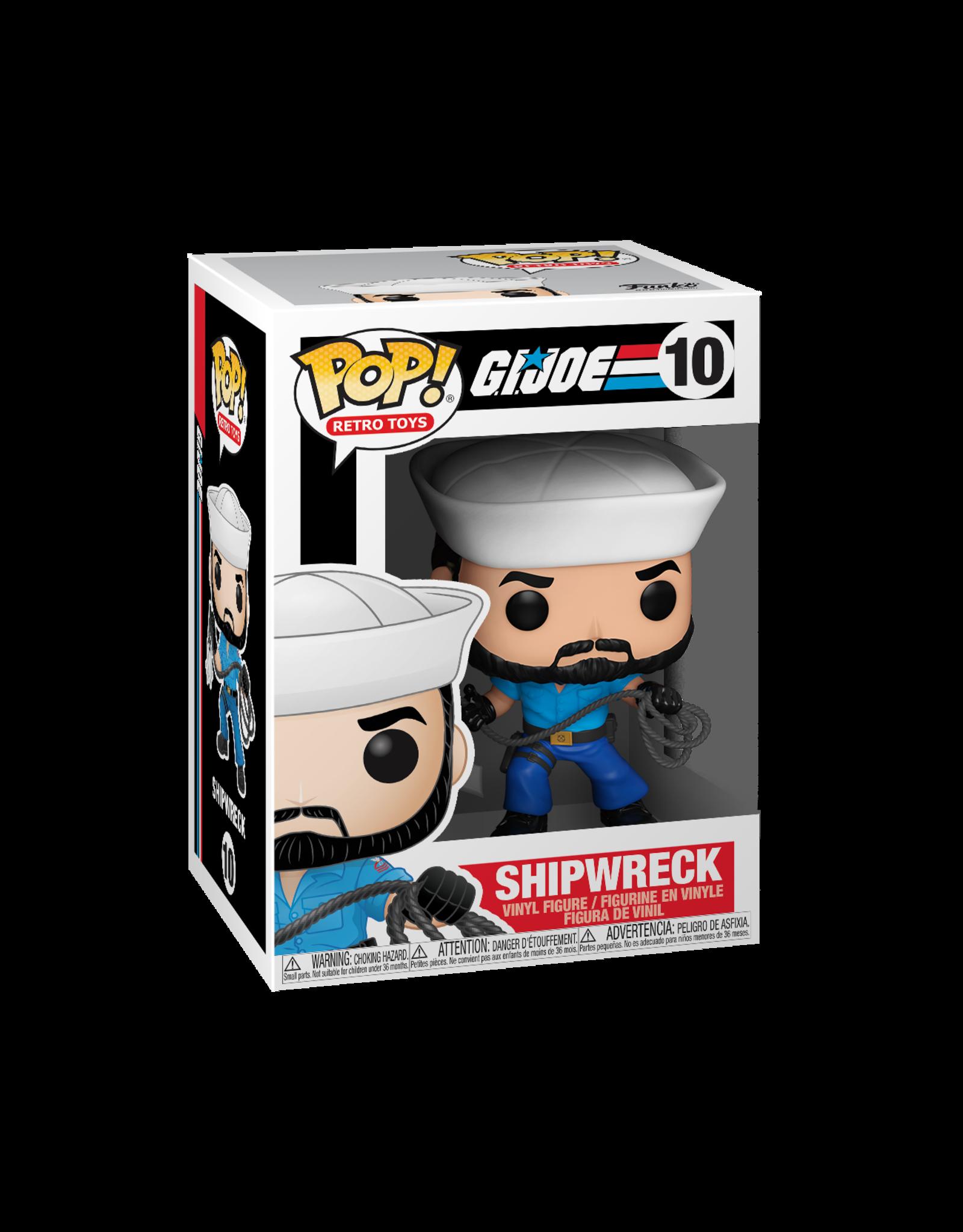 FUNKO POP! G.I. JOE SHIPWRECK VINYL FIGURE