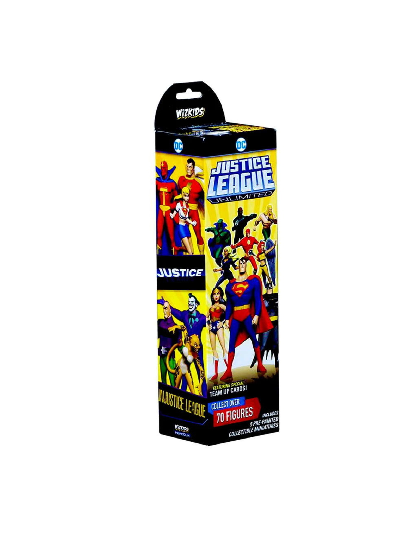 DC HEROCLIX JUSTICE LEAGUE UNLIMITED BOOSTER